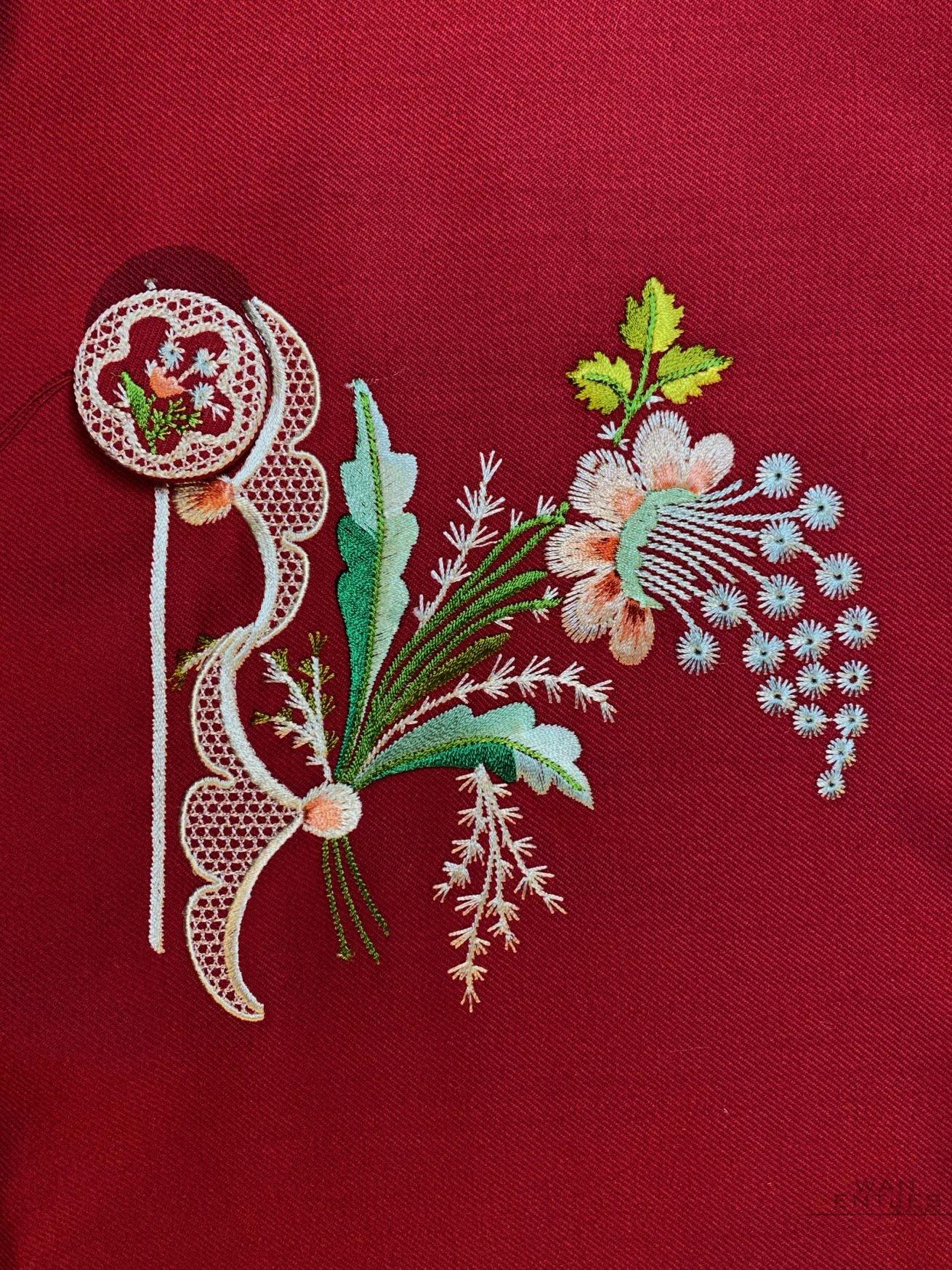 18th Century Embroidery replica
